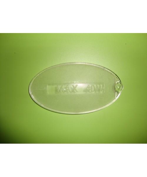 Tapa placa luz ovalada campana mepansa adaptable