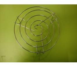 Parrilla para grill de microondas diámetro 22cm 9cm BAJA pata inox
