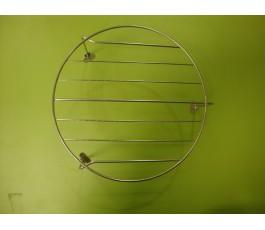 Parrilla para grill de microondas diámetro 20cm 9cm pata inox