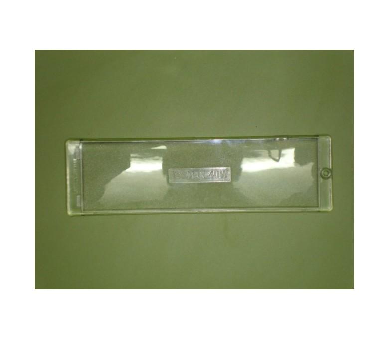 Tapa placa luz campana fagor original 220x65 CC-130I IX/LX