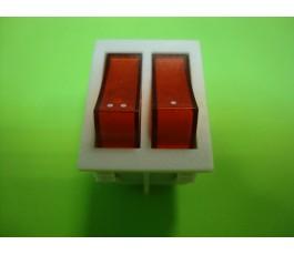 Interruptor dos teclas luminoso radiador de aceite FM