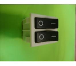Interruptor doble estufa de pie de FM 2302-C y 2302-R