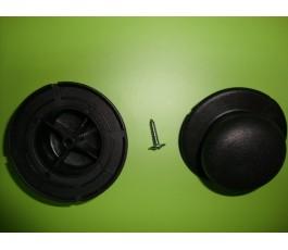 Pomo batería - tapa cristal estándar de 70 mm de diámetro