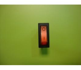 Interruptor con luz 3p rojo 32 x 14