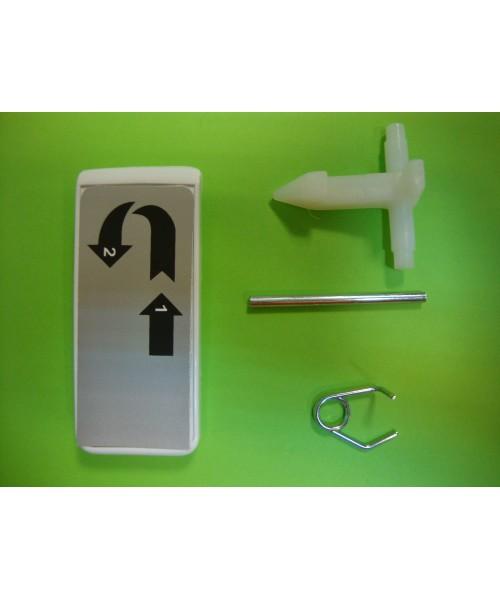 Maneta cierre lavadora BALAY 5500-5600 blanco
