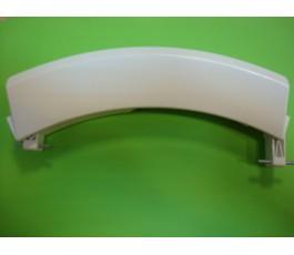 Maneta cierre lavadora BOSCH 8KG blanca corta 21cm