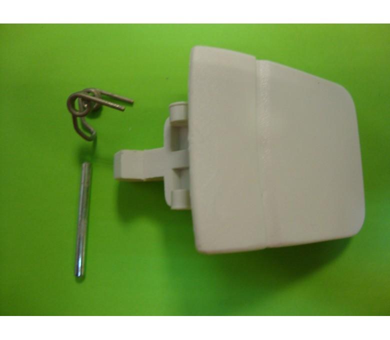 Maneta cierre lavadora PHILIPS - IGNIS blanco