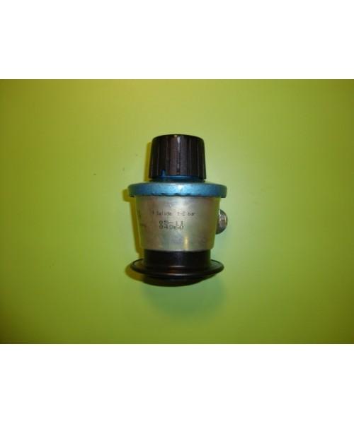 Regulador butano propano monfa sal. reg. 0-2 bar (mando negro)