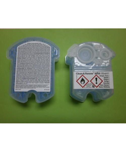 Liquido limpiador afeitadora BRAUN CCR2 (2 unidades)