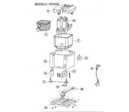 .Despiece freidora JATA FR1045