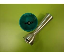 Caña batidora BT160 verde JATA