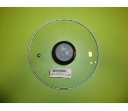 Tapa de vidrio de 22 cm diametro