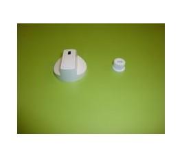 Mando cocina estandar blanco s/eje 6 mm