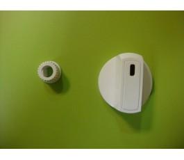Mando cocina estandar blanco s/eje 4 mm
