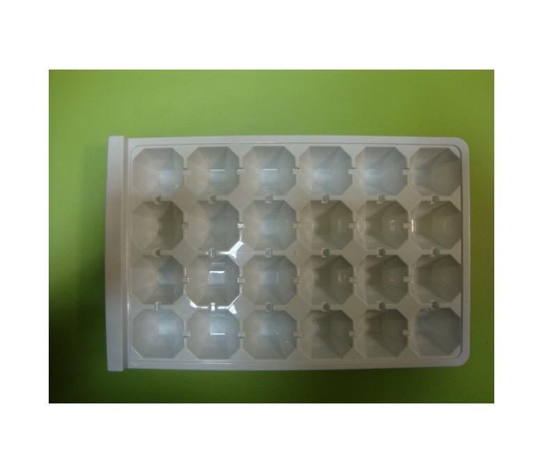 Cubitera blanca (24 cubitos ) forma diamante