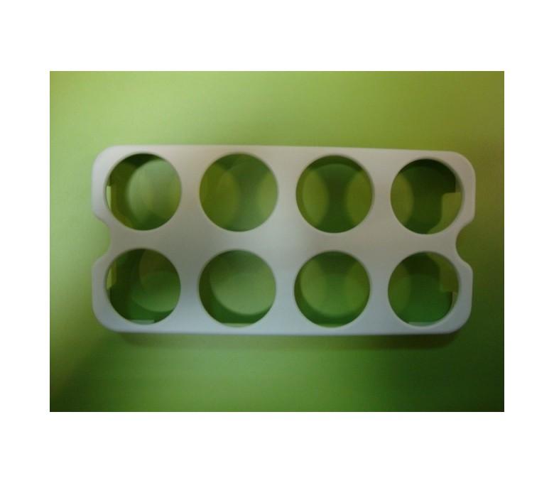Huevera blanca (8 huevos)