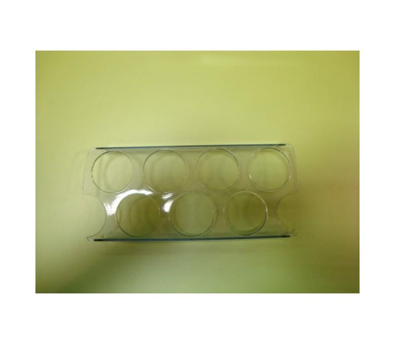 Huevera transparente (7 huevos)