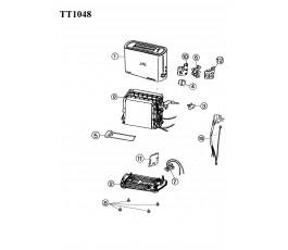 .Despiece tostador JATA TT1048