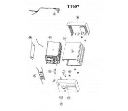 .Despiece tostador JATA TT607