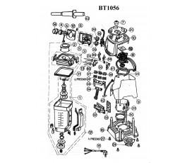 .Despiece batidora JATA BT1056