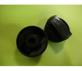 Mando cocina estándar negro s/eje 8mm