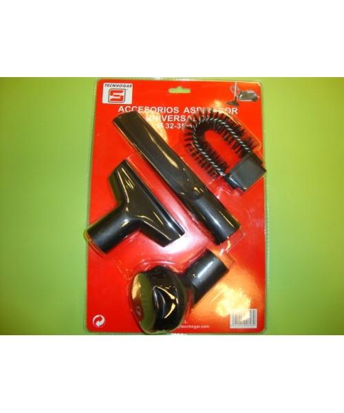 Kit accesorios aspirador standar diámetro 32-35 cm