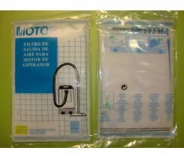 Microfiltro de motor de aspiradoras (papel) Universal
