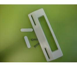 Tirador frigorifico standar blanco